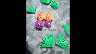 how to made  paper flowers