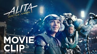 "Alita: Battle Angel | ""Motorball"" Clip 