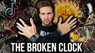 The Broken Clock (Tik Tok Tutorial)