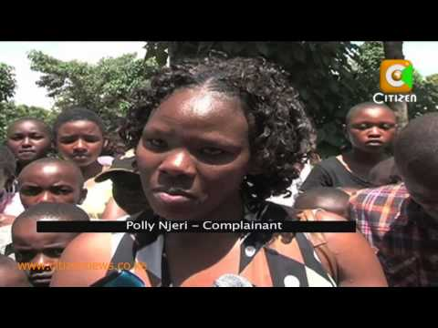 Drama at a Wedding in Nyeri