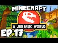 Jurassic World: Minecraft Modded Survival Ep.17 - NEW LAB!!! (Rexxit Modpack)