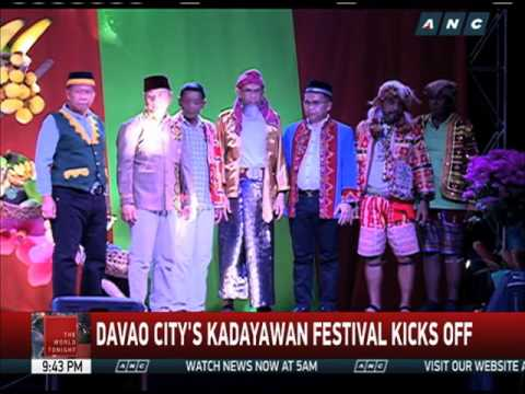 Davao City's Kadayawan Festival kicks off