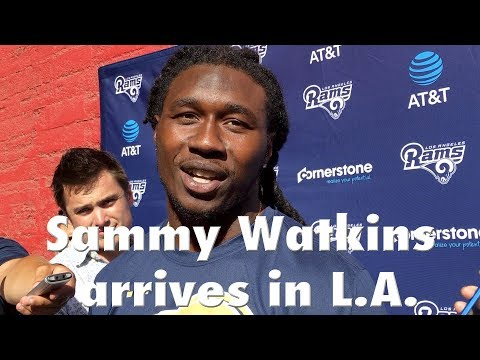 Rams Receiver Sammy Watkins Arrives in L.A. | Los Angeles Times