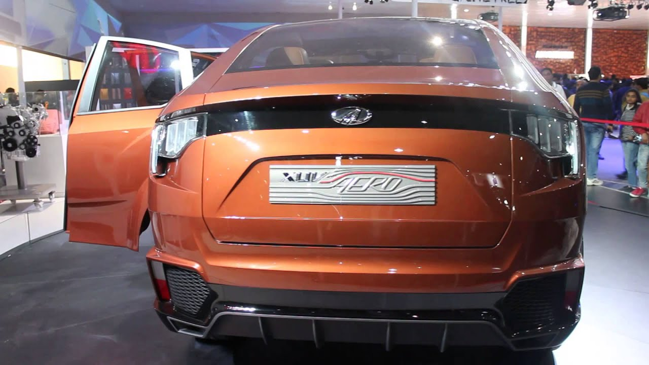 Mahindra Xuv Aero Concept A Coupe Suv Degree Walk Around
