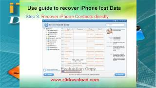 iPhone iTunes data recovery for Mac-Recover lost photo video contact sms from Mac