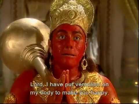 Image result for hanumanji pura sindur lagaye hue