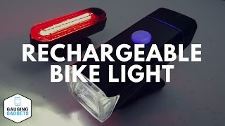 Amir Rechargeable Bike Light Review - USB Waterproof Bicycle Torch