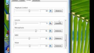 Re: How to enable Stereo Mix in Vista and set devices