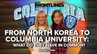 MEET YEONMI PARK - North Korean Defector Faces Totalitarianism at Columbia University