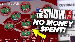 NO MONEY SPENT MLB The Show 19 Diamond Dynasty 1