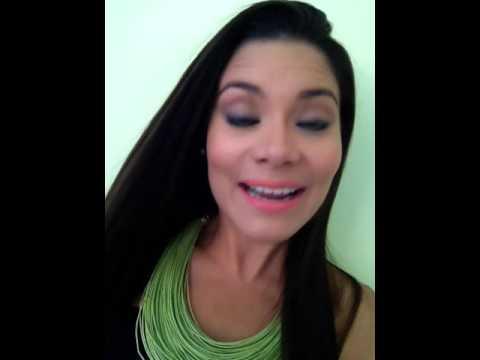 La actriz Greisy Mena en el 4to aniversario de Noticias24 Carabobo