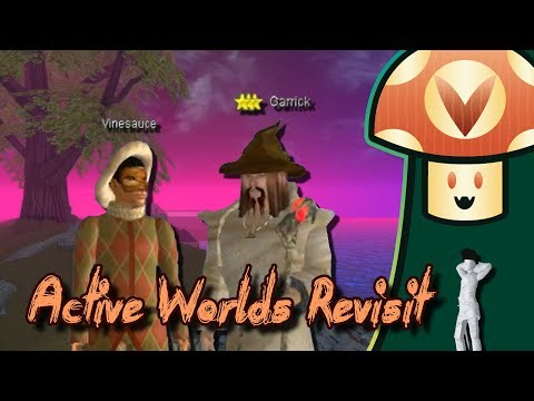 [Vinesauce] Vinny - Active Worlds Revisit
