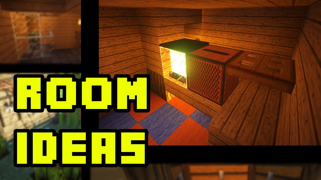 Minecraft house room design ideas xbox ps3 pe pc youtube for Minecraft living room ideas xbox
