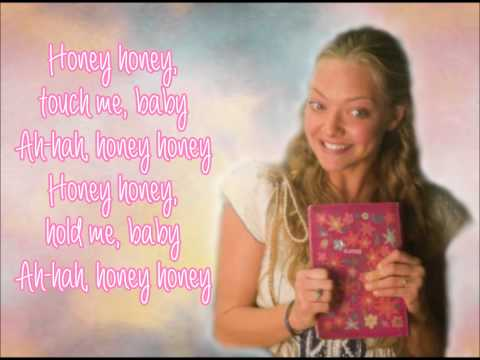 Mamma Mia The Movie-Honey Honey-Lyrics Video (full song)
