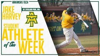Arkansas Tech Student Athlete of the Week - Jake Harvey