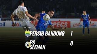 [Pekan 17] Cuplikan Pertandingan Persib Bandung vs PS Sleman, 30 Agustus 2019