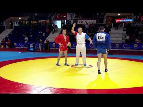 Sambo European Championship 2014 Day 2 part 1 Romania Bucharest