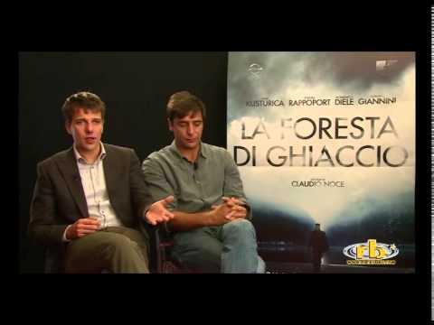 Adriano Giannini e Domenico Diele, intervista per La Foresta di Ghiaccio, RB Casting
