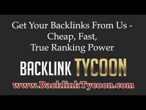 Buy Backlinks – Cheap Reliable Backlinks from the number one backlink provider!