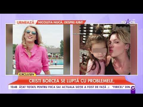 Alinei Vidican i-a priit divorțul de Cristi Borcea