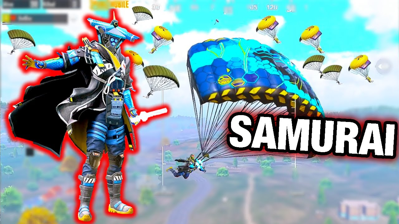 Playing with New SAMURAI Set | SOLO vs SQUAD PUBG MOBILE