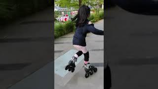 Main Sepatu Roda Inline Skate Di SPARK - Senayan Park, Jakarta 【AIRADE】