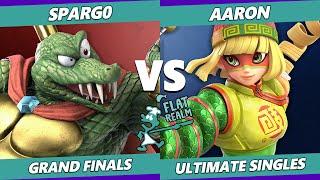 Random Flatrealm GRAND FINALS - XTR   Spargo Vs. Aaron - Smash Ultimate SSBU