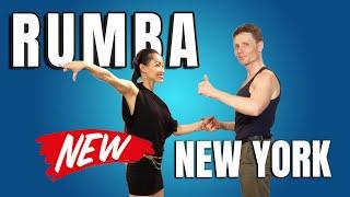 5 NEW Rumba Dance Steps - New Yorker Latin Dance Tutorial