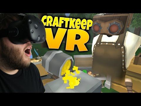 Craftkeep VR - Shoppe Keep in VR! - Medieval Store Simulator - Craftkeep VR Gameplay Part 1