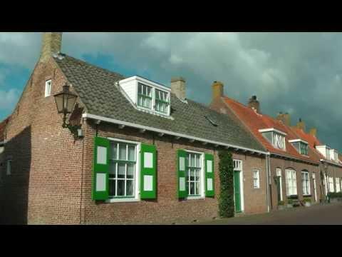 NETHERLANDS Veere, Zeeland (hd-video)