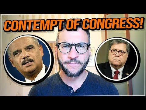 Real Lawyer Explains A.G. Barr Contempt of Congress - viva Frei Vlawg