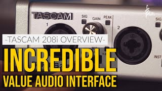 I HAD TO HAVE THIS INTERFACE | Tascam Series 208i Audio Interface | TOM QUAYLE