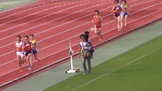 第 95 回関西学生陸上競技対校選手権大会 女子5000m決勝 2018.05.12 於...