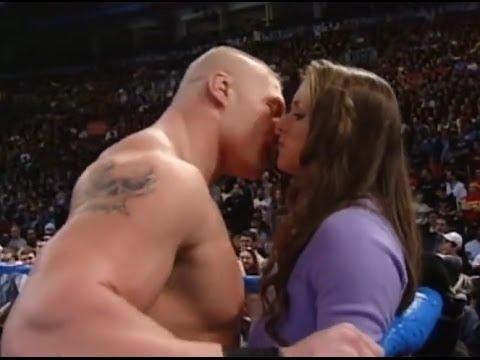 Download 2016 Brock Lesnar KISS Stephanie Mc Mahon Watch!
