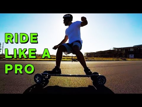 How To Corner & Carve Like a Pro on Your Evolve Skateboard!