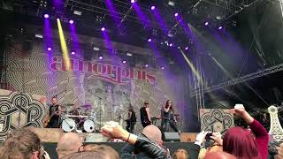 Amorphis - The Bee - Southpark Tampere 9.6.2018 live