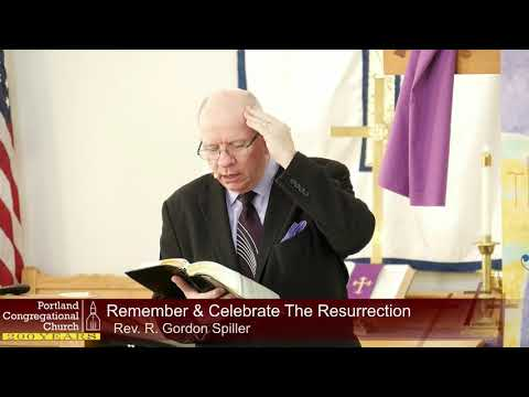 18-04-01 Remember And Celebrate The Resurrection