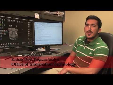 I Work at UA: Program Analyst Senior