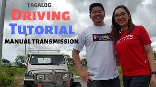 Paano mag drive ng Manual na kotse : Driving Tutorial Manual Transmission