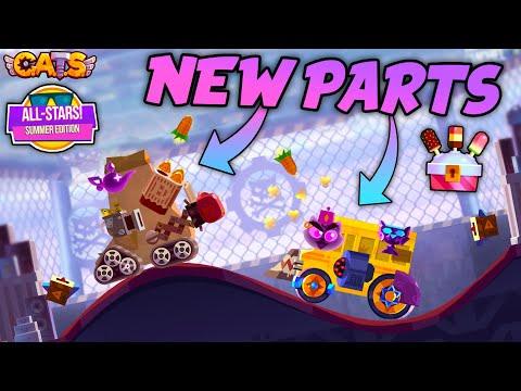 C.A.T.S NEW PARTS  POPCORN LAUNCHER & MAGIC LAMP  Summer Edition AllStars Gameplay