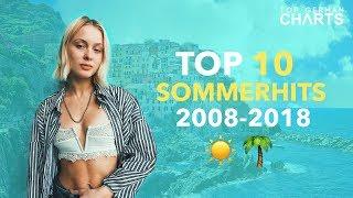 TOP 10 SOMMERHITS DER LETZTEN 10 JAHRE
