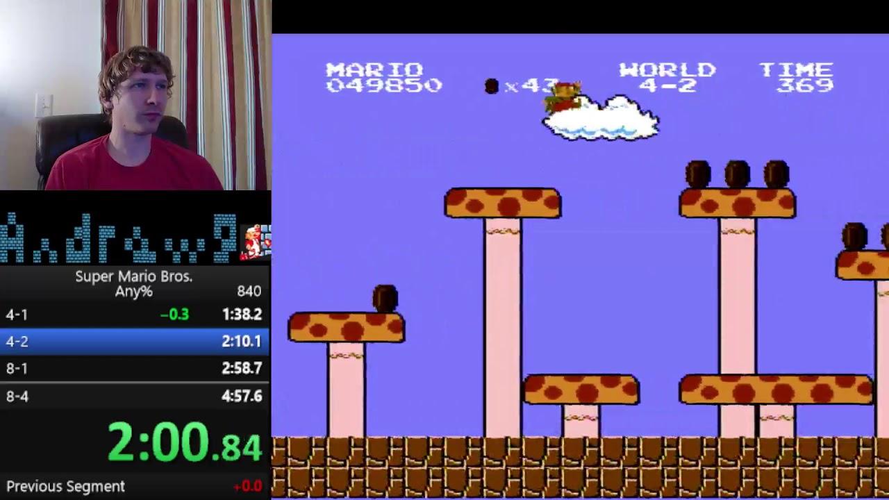 Super Mario Bros. Speedrun - 4:57.29 - Super Mario Bros. Speedrun - 4:57.29