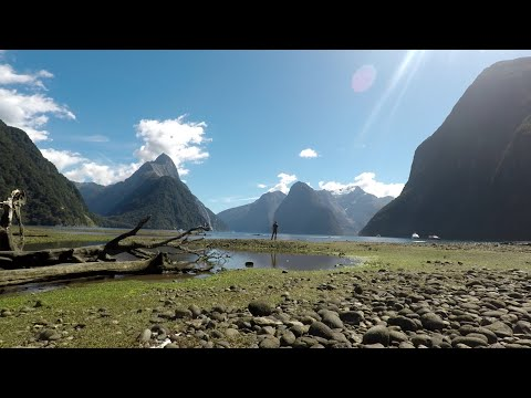 Round The World Part 17 New Zealand South Island GoPro Quik Travel Story