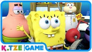 Spongebob Schwammkopf 🧀 Deutsch, ganze Folgen des XBox Spiels Heldenschwamm | Komplett