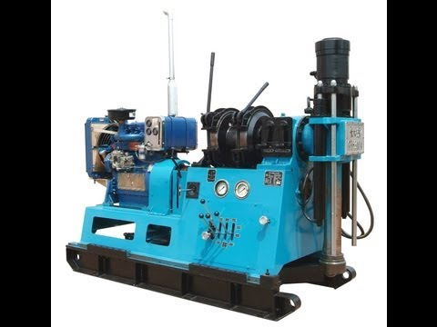 GY-300T Wire-line Drilling Process