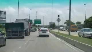 Johor Bahru Malaysia heading towards Singapore