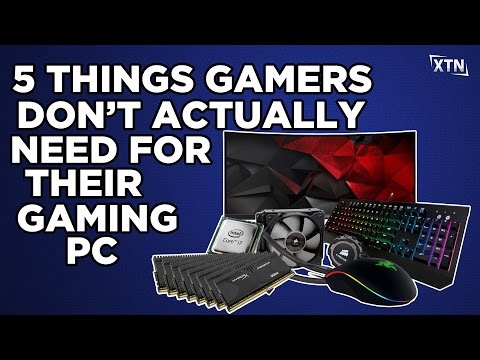 5 Things Gamers Don't Actually Need For Their Gaming PC