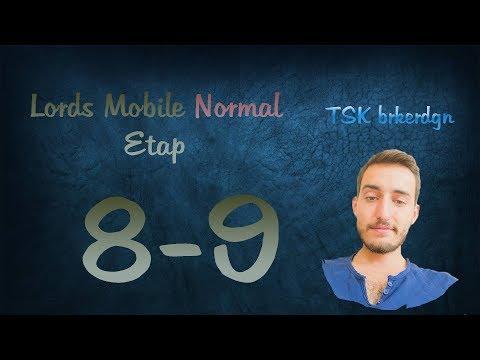 Lords Mobile Normal Etap 8-9