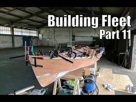 Building Fleet, a small wooden boat #11