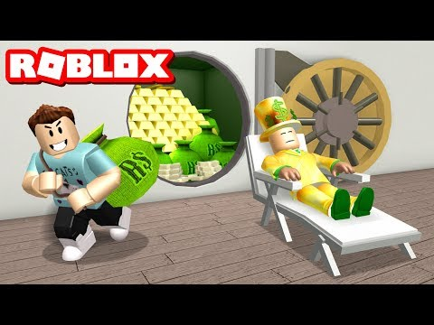 ROB THE MANSION OBBY IN ROBLOX